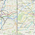 Paris Metro compared to London Underground