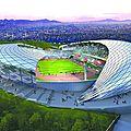 Les travaux préparatoires en cours pour la construction du Stade de <b>Japoma</b>