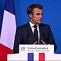 <b>Union</b> <b>Européenne</b> : la victoire inespérée du Président Macron