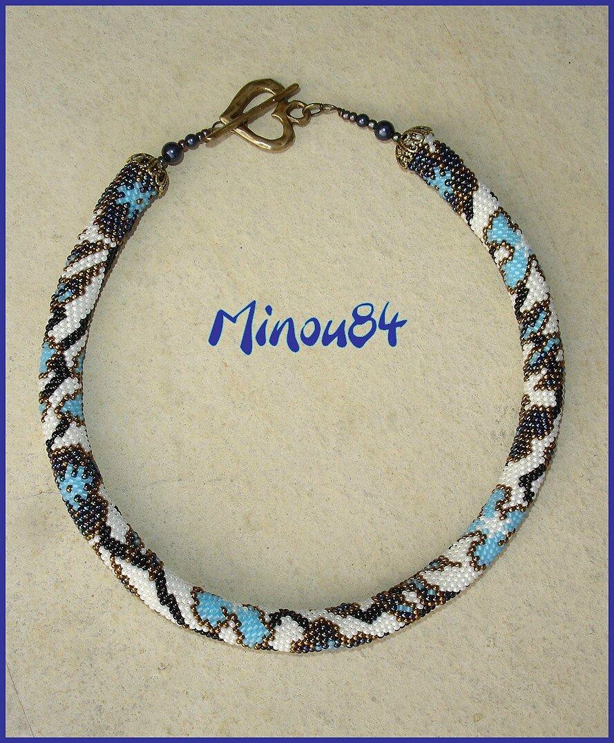 spirale bleue Doro