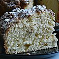 Le streusel made in alsace