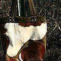 sac peau vache
