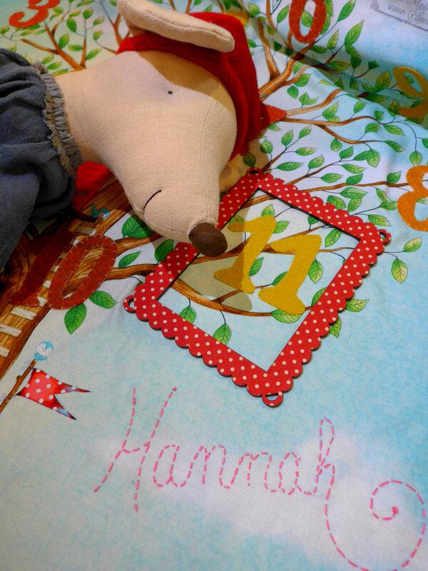 cadeau de naissance personnalisé atelier de la souris
