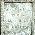 Arthur proux (1884 - 1918)