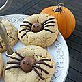 Mercredi c'est pâtisserie! - des cookies araignées à croquer!
