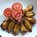 Ailes de poulet frits aux épices