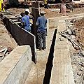 L'<b>eau</b> de pluie du marché de Koungoba sera bientôt captée et redirigée pour ne plus inonder !