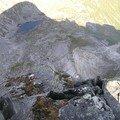 la falaise de 600m
