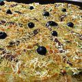Pizza pissalaflamiche (pissaladière et flamiche)