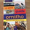 Nous avons découvert Le petit guide ornitho de Marc Duquet et Jean Chevallier