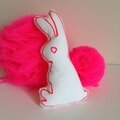 Lapin Fluo et Liberty Made at les Volets Verts