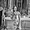 <b>Chanteuse</b> liturgique & gospel ANGERS LE MANS TOURS •bénédiction, cérémonie, messe de mariage, baptême
