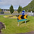 Rond-point à <b>Carrick</b>-on-Shannon (Irlande)