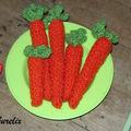 Une botte de carottes