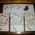 Lot de cartes