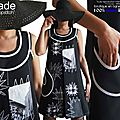 robe-trapeze-patchwork-noire-blanc-gris-fantaisie-createur-made-in-france-isamade-2018