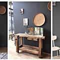 Armoire-commode rétro et étagère + établi d'atelier en vente