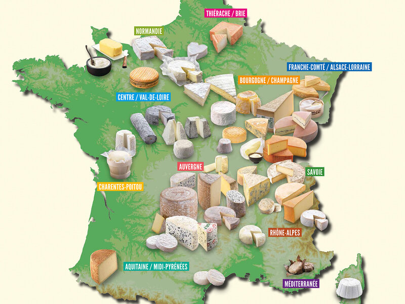 Regional-france-cheeses