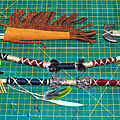 Fabrication de lance, arc, carquois, flèches, tomahawk - How to spear, <b>bow</b>, quiver, arrows, tomahawk
