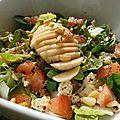 Salade de mâche et endive