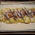 Salade de pommes de terre et hareng fume