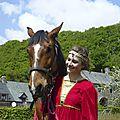 balade à cheval médiévale - Abbaye de Hambye (211)