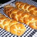 Hallah (hallot) de chabbat au poolish : pain de chabbat