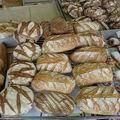2008 05 21 Mon pain de seigle au levain liquide et mon pain sübrot a droite
