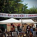 La fête médiévale des arcs sur argens : du coté des archers