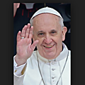 Tweets du <b>Pape</b> François Avril 2019: Jésus sur la Croix nous enseigne le courage fort du renoncement....