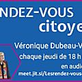 Les rendez-vous citoyens > jeudi 8 avril 2021