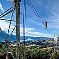 Vertige sur pylones tht dans la vallée de la durance...