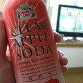 Clear apple soda