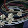 Bracelets fleurettes
