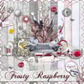 Frosty raspberry