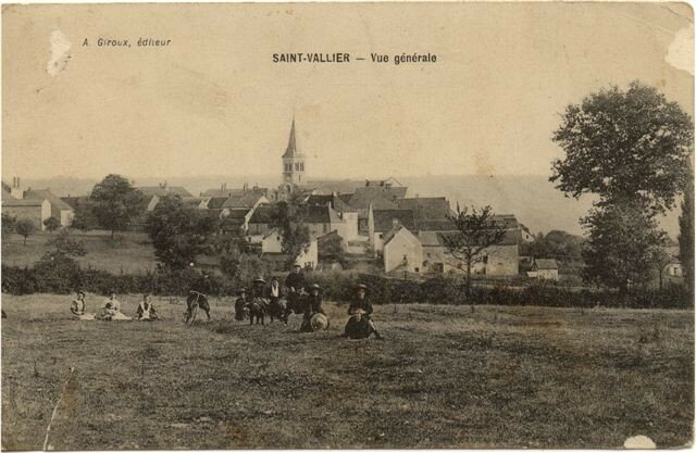 SAINT VALLIER village de naissance de maman