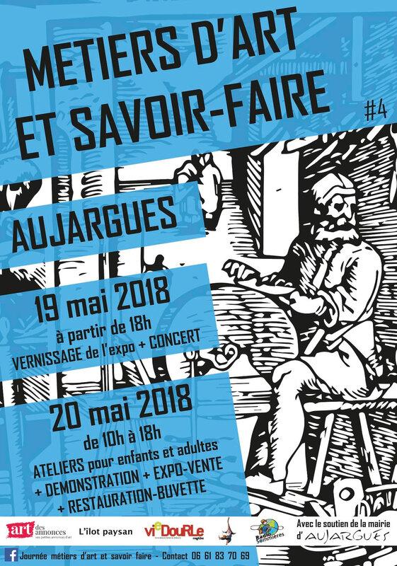 Fly Faites des Métiers d'Art A6 recto 2018