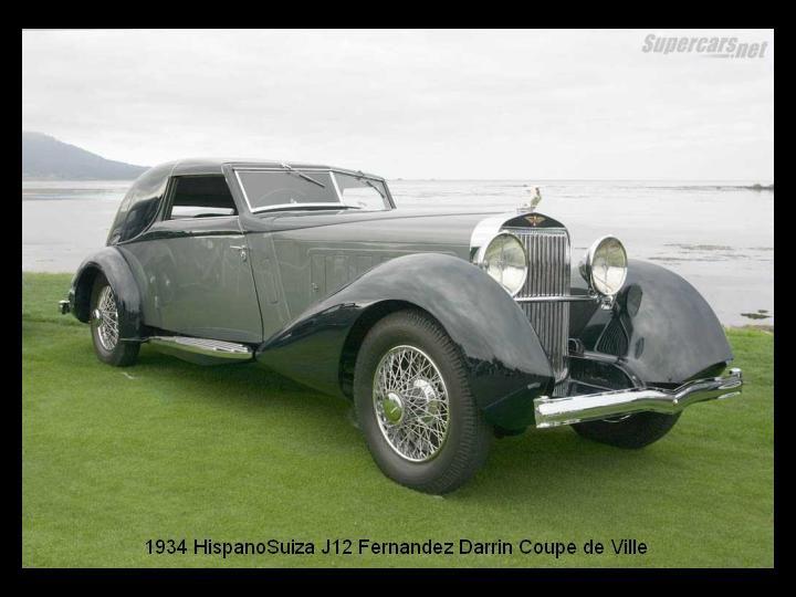 1934 - Hispano Suiza J12 Fernandez Darrin Coupe de Ville