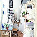Comment créer un <b>atelier</b> de couture quand on ne dispose que de quelques mètres carrés ?