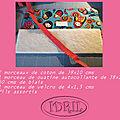 Tutoriel pochette telephone honor 8 ( 5,2 pouces)