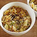 Riz aux patates douces et aux pousses de soja [vegan]