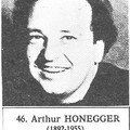 Honegger (Arthur) 1892-1955 France