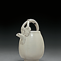 A small Ding ewer, <b>Song</b> <b>dynasty</b> (AD <b>960</b>-<b>1279</b>)
