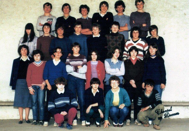 CLASSE de 4ème 1981 82244