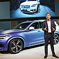 Volvo bets on hybrids, autonomous car technology