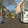Tramways et ville durable à freiburg im breisgau