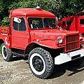 Dodge WC51 <b>véhicule</b> de pompier