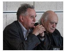Maurice Bellet et Jean-Marie Martin à Saint-Jacut