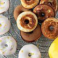 Un dernier donut pour la route ? Citron-pavot glaçage citron ou 100% chocolat ?