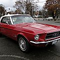 Ford mustang convertible - 1967